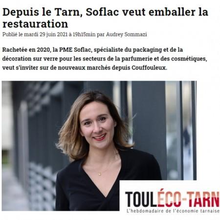 Depuis le Tarn, Soflac veut emballer la restauration