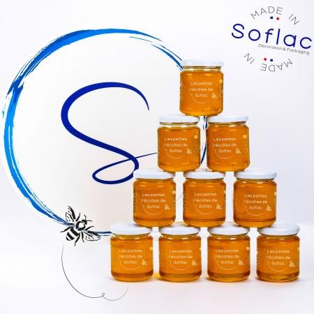 Première récolte de miel sur Soflac